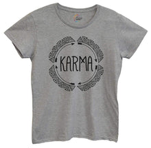 Womens Karma Tshirt Small Womens Tank Tops Grey Tshirt