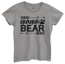 Womens Mama Bear Tshirt Small Womens Tank Tops Grey Tshirt