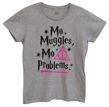 Womens Mo Muggles Mo Problems Tshirt Small Womens Tank Tops Grey Tshirt