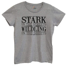 Womens Stark In The Streets Wildling In The Sheets Tshirt Small Womens Tank Tops Grey Tshirt
