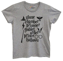 Womens Stone Chamber Prisoner Goblet Order Prince Hallows Tshirt Small Womens Tank Tops Grey Tshirt