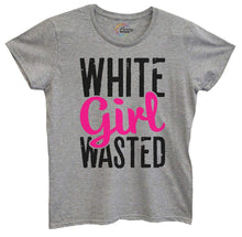 Womens White Girl Wasted Tshirt Small Womens Tank Tops Grey Tshirt