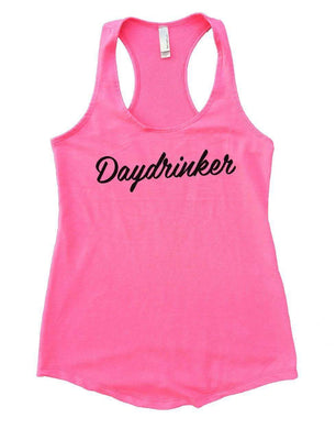 Daydrinker Womens Workout Tank Top Small Womens Tank Tops Heather Pink