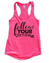 Follow YOUR Arrow Womens Workout Tank Top Small Womens Tank Tops Hot Pink