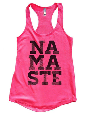 NAMASTE Womens Workout Tank Top Small Womens Tank Tops Hot Pink