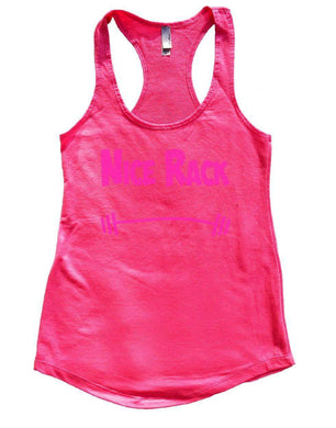 NICE RACK Womens Workout Tank Top Small Womens Tank Tops Hot Pink