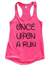 ONCE UPON A RUN Womens Workout Tank Top Small Womens Tank Tops Hot Pink