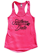 Southern Belle Womens Workout Tank Top Small Womens Tank Tops Hot Pink
