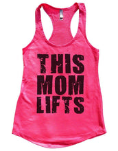 THIS MOM LIFTS Womens Workout Tank Top Small Womens Tank Tops Hot Pink
