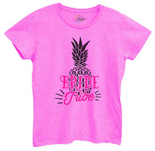 Womens Bride Tribe Pineapple Tshirt Small Womens Tank Tops Hot Pink Tshirt