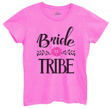 Womens Bride Tribe Tshirt Small Womens Tank Tops Hot Pink Tshirt