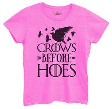 Womens Crows Before Hoes Tshirt Small Womens Tank Tops Hot Pink Tshirt