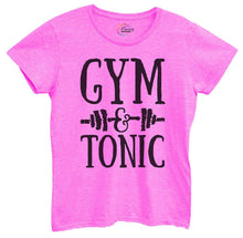 Womens Gym And Tonic Tshirt Small Womens Tank Tops Hot Pink Tshirt