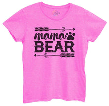 Womens Mama Bear Tshirt Small Womens Tank Tops Hot Pink Tshirt