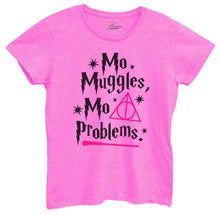 Womens Mo Muggles Mo Problems Tshirt Small Womens Tank Tops Hot Pink Tshirt