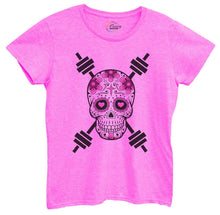 Womens Skull Tshirt Small Womens Tank Tops Hot Pink Tshirt