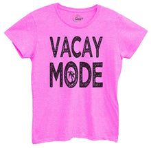 Womens Vacay Mode Tshirt Small Womens Tank Tops Hot Pink Tshirt