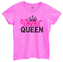 Womens Workout Queen Tshirt Small Womens Tank Tops Hot Pink Tshirt