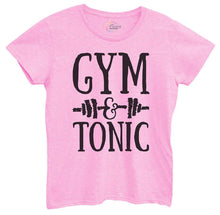 Womens Gym And Tonic Tshirt Small Womens Tank Tops Light Pink Tshirt