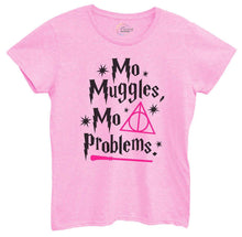 Womens Mo Muggles Mo Problems Tshirt Small Womens Tank Tops Light Pink Tshirt