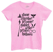 Womens Stone Chamber Prisoner Goblet Order Prince Hallows Tshirt Small Womens Tank Tops Light Pink Tshirt