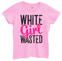 Womens White Girl Wasted Tshirt Small Womens Tank Tops Light Pink Tshirt