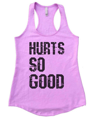 HURTS SO GOOD Womens Workout Tank Top Small Womens Tank Tops Lilac