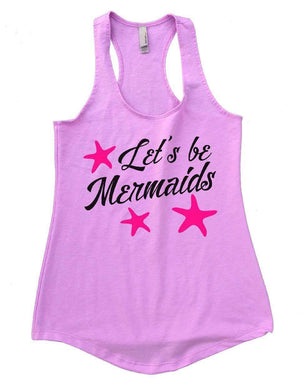 Let's Be Mermaids Womens Workout Tank Top Small Womens Tank Tops Lilac
