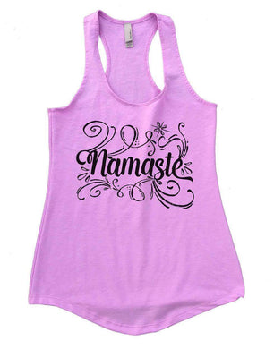 Namaste Womens Workout Tank Top Small Womens Tank Tops Lilac