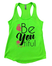 Be You Tiful Womens Workout Tank Top Small Womens Tank Tops Neon Green