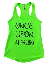 ONCE UPON A RUN Womens Workout Tank Top Small Womens Tank Tops Neon Green