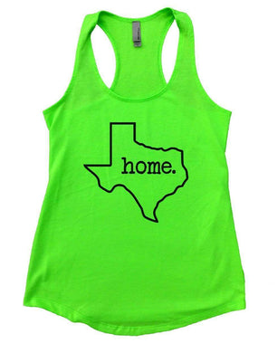 TEXAS Home Womens Workout Tank Top Small Womens Tank Tops Neon Green