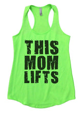 THIS MOM LIFTS Womens Workout Tank Top Small Womens Tank Tops Neon Green