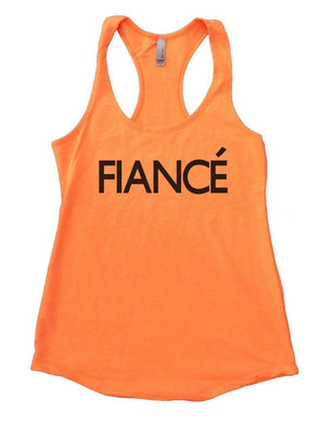 FIANCE Womens Workout Tank Top Small Womens Tank Tops Neon Orange