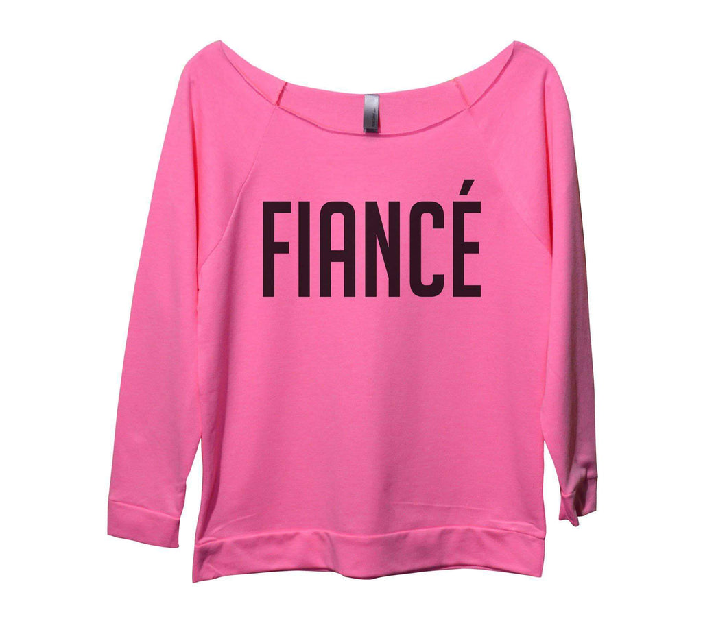 Fiance Womens 3/4 Long Sleeve Vintage Raw Edge Shirt Small Womens Tank Tops Pink