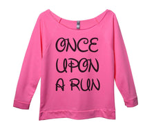 Unce Upon A Run Womens 3/4 Long Sleeve Vintage Raw Edge Shirt Small Womens Tank Tops Pink
