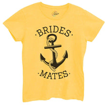 Womens Brides Mates Tshirt Small Womens Tank Tops Yellow Tshirt