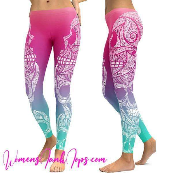 Womens Yoga Pants Avtivewer New Tri Color Soft Leggings  Womens Tank Tops