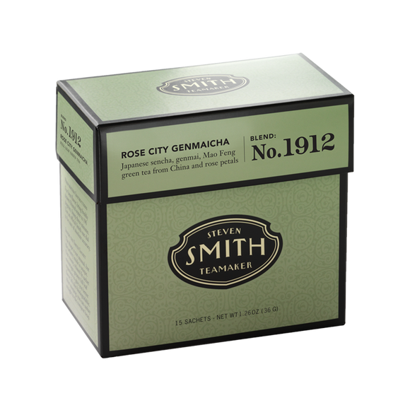 No.1912 Rose City Genmaicha - Green & White Tea