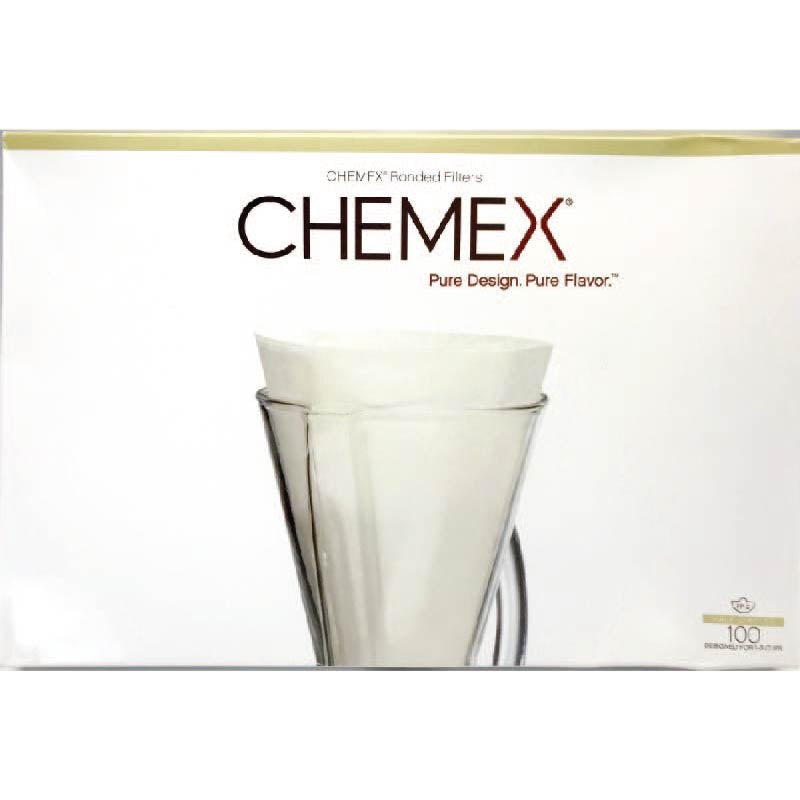 Chemex Unfolded Half Circle Filters