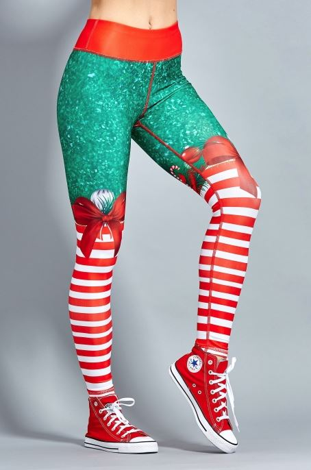 SANTA'S HELPER Leggings