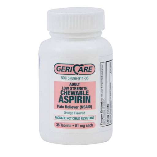 Chewable Aspirin Adult 81mg