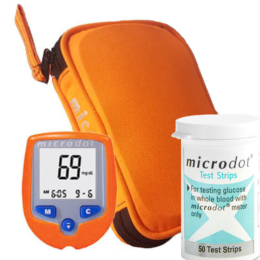 Microdot Code 69 EMS Glucometer Test Strips