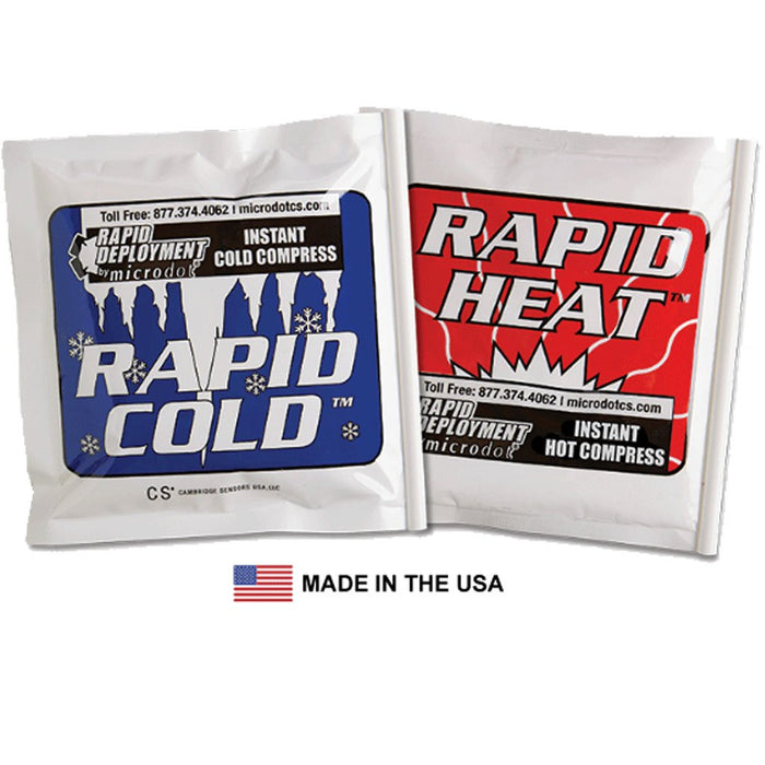Rapid Deployment Hot & Cold Packs