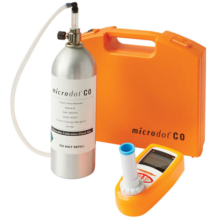 microdot® CO Breath Analyzer Kit