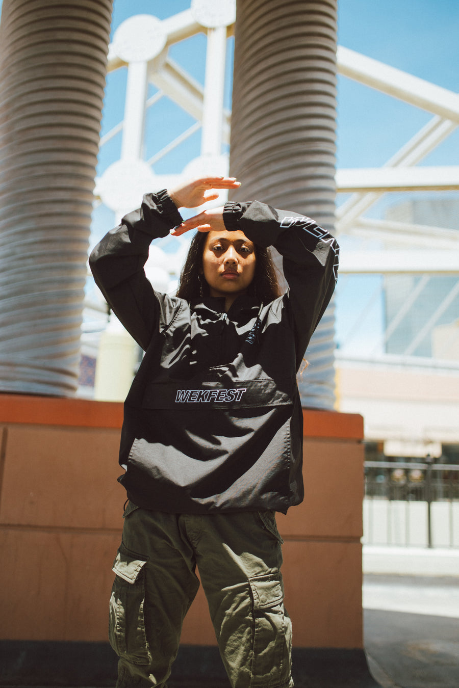WEKFEST S/S 19' OFFICIAL ANORAK