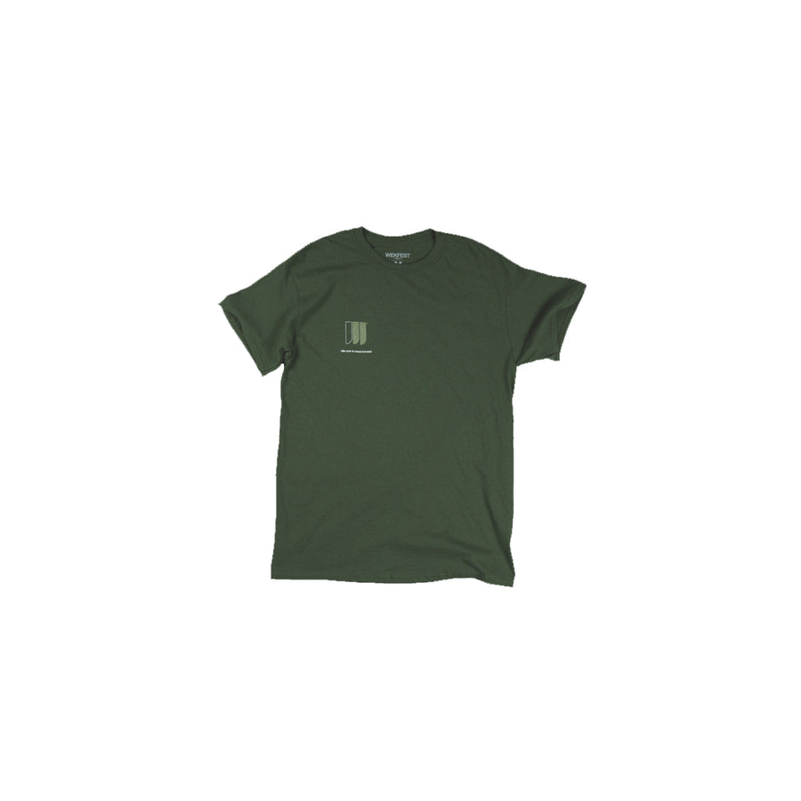 NUMBER 1 T-SHIRT -ARMY GREEN