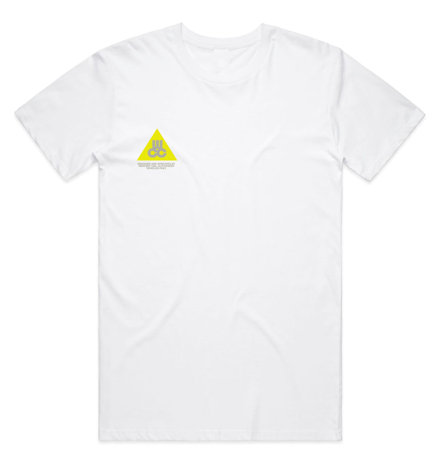 WCC T-Shirt - White/Volt