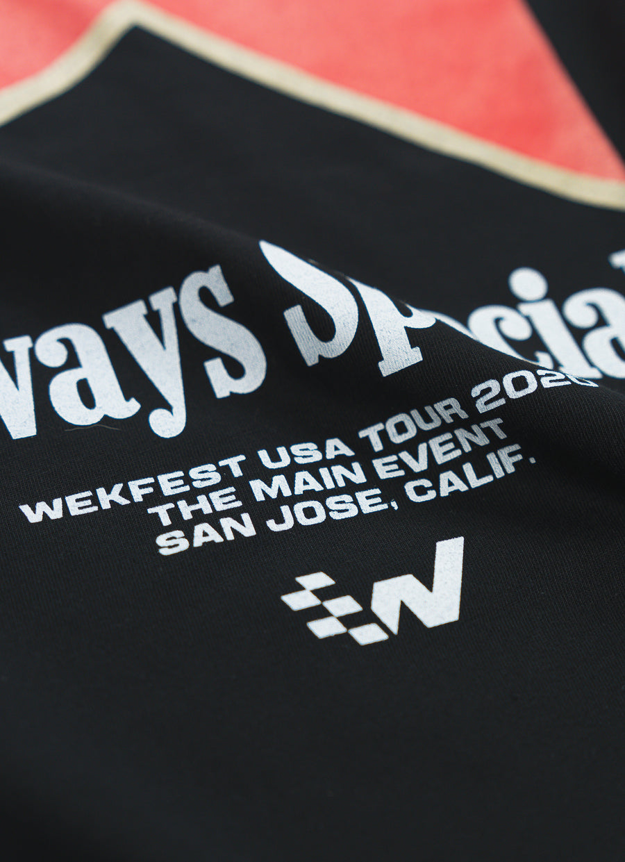 Wekfest San Jose Official T-Shirt - Black