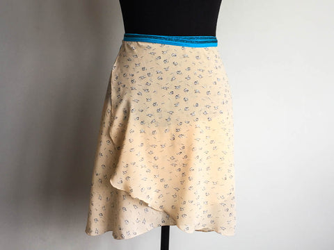 Little motifs dance skirt long length